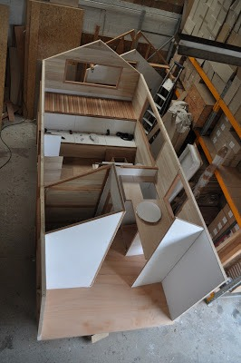 Construction la cabane en cavale