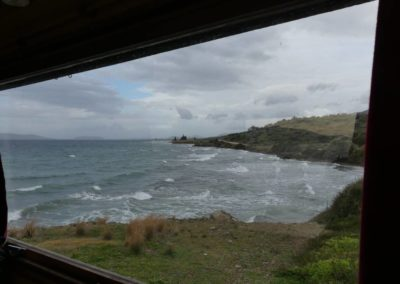 96. Route vers presqu'île de Méthana - Les Mollalpagas en cavale (1)