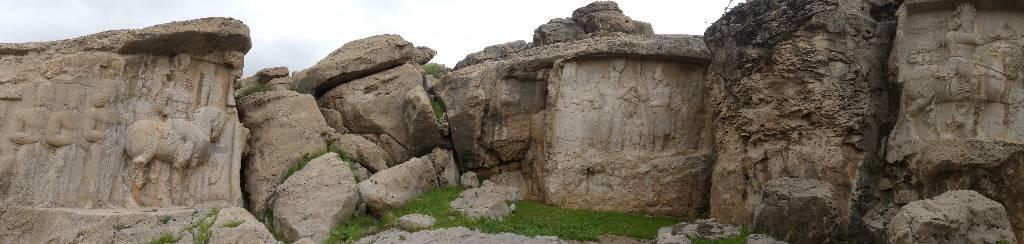136. Naqsh-e Rostam et Naqsh-e Rajab - Les Mollalpagas en cavale (8)