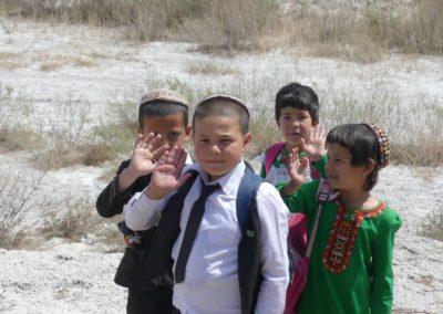 153. Turkménistan - Les Mollalpagas en cavale (450)