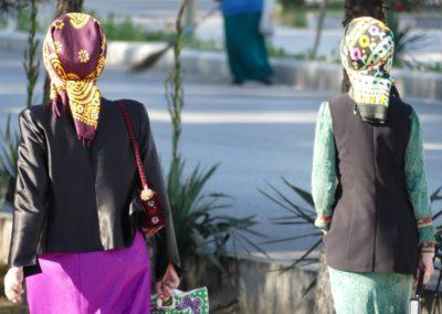 153. Turkménistan - Les Mollalpagas en cavale (99)